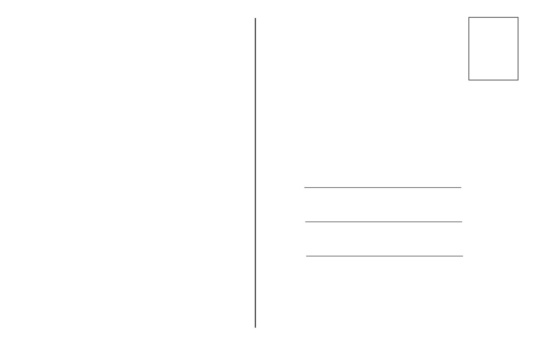Programm tutorium bildbearbeitung - Blanko postkarten ...